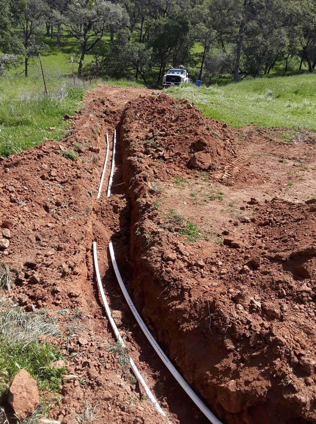 Alpine Earthmoving fire protection irrigation system